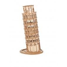 3D деревянный конструктор Robotime Пизанская башня