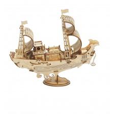 3D деревянный конструктор Robotime Японское дипломатическое судно