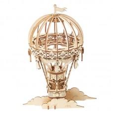 3D деревянный конструктор Robotime Воздушный шар