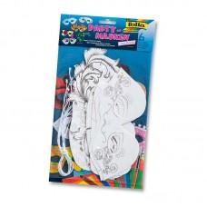 Набор детских масок с дизайном, 6 шт.