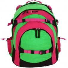 Рюкзак Ikon Pink & Green - Розово-зеленый
