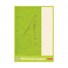Миллиметровка Herlitz (блокнот) А4 25 листов