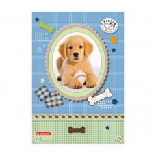 Альбом для рисования Herlitz Pretty Pets А4 75 листов, щенок