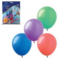 """Шары воздушные Веселая затея 14"""" (36 см), комплект 100 штук, 12 пастельных цветов"""