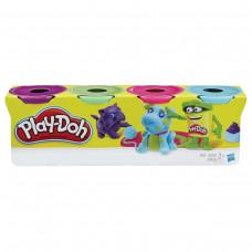 Пластилин Play-Doh Hasbro, 4 цвета, 546 грамм