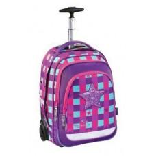 Рюкзак Coocazoo BaggyMax Trolley розовый/фиолетовый Pink Star (138537)