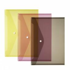 Папка-конверт с кнопкой Herlitz А4