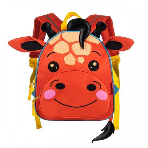 Рюкзак школьный Grizzly жираф