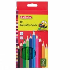 Карандаши цветные Herlitz 10 штук