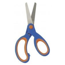 Ножницы Herlitz с закругленными концами, голубые