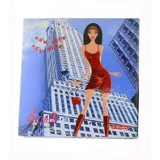 Книжка Herlitz записная  City Girls New York с карандашом, 325 листов клетка