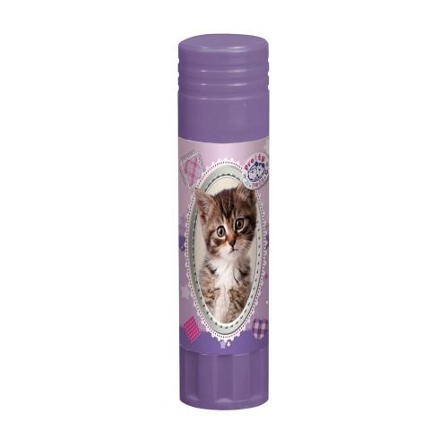 Клей карандаш Herlitz Pretty Pets, 21 гр., котенок