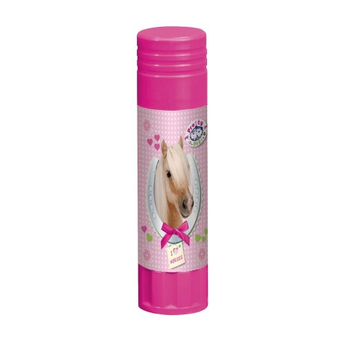 Клей карандаш Herlitz Pretty Pets, 21 гр., лошадка