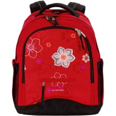 Рюкзак 4YOU Compact Красный цветок - Statement-Colour