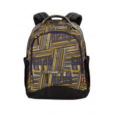 Рюкзак 4YOU Compact Желто-серые полосы
