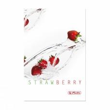 Записная книга Herlitz Fresh Fruit А5 96 листов в клетку, Клубника