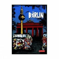 Записная книжка Herlitz City Trips Berlin А5 96 листов в клетку