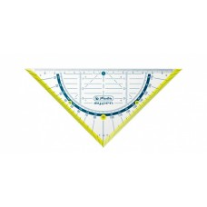 Треугольник Herlitz my.pen 16см, желтый