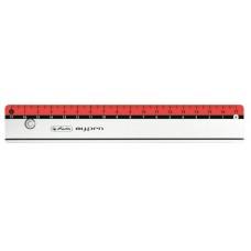 Линейка my.pen Herlitz длина 17см, для левши/правши, розовая