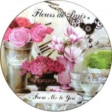Доска разделочная/подставка под горячее Gift'n'Home - Парижские Цветы