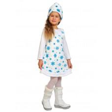 Карнавальный костюм Карнавалофф - Плюш. Снежинка, размер 92-122см
