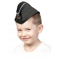 Аксессуары Карнавалофф - Воины-победители. Пилотка ВМФ с кантом, размер 53-55см