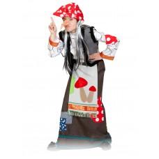 Карнавальный костюм Карнавалофф - Сказки. Баба Яга, размер 116-122см