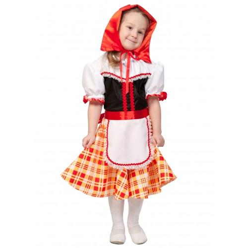 Карнавальный костюм Карнавалофф - Сказки. Красная шапочка, размер 116-122см
