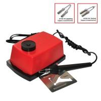 Прибор для выжигания Трансвит - Узор-1 по дереву и ткани с регулировкой мощности, 2 насадки