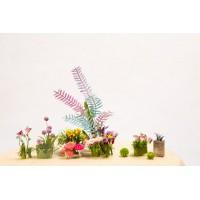 3D деревянный пазл Robotime Миниатюрный дом Садовый дом