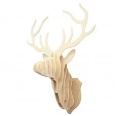 3D деревянный пазл Настенные украшения - Голова оленя