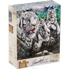 Пазл Step Puzzle - Найди 13 тигров, 1000 деталей