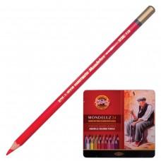 Карандаши цветные акварельные художественные Koh-I-Noor Mondeluz, 24 цвета, 3,8 мм
