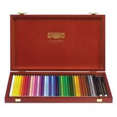 Карандаши цветные Koh-I-Noor Polycolor, 36 цветов, грифель 3,8 мм, заточенные
