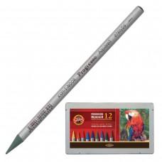 Карандаши цветные акварельные Koh-I-Noor Progresso, 12 цветов, 7,1 мм