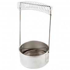 Кистемойка алюминиевая Невская палитра, диаметр 10,5 см, высота 18 см