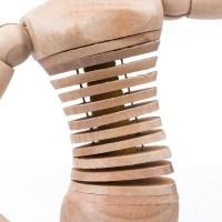 Манекен художественный гибкий, Brauberg Art Classic, женский, дерево, высота 30 см