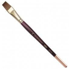 Кисть художественная Koh-I-Noor колонок, плоская, №10, короткая ручка