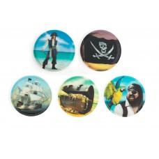 Набор сменных стикеров Ergobag Pirates, 5 штук