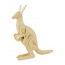 3D деревянный пазл Robotime Дикие животные - Кенгуру