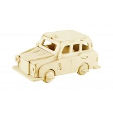 3D деревянный пазл Robotime Транспорт - Такси Лондона