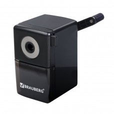 Точилка механическая Brauberg Black Jack, металлический механизм