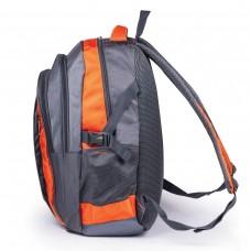 Рюкзак Brauberg - SpeedWay 1, серо-оранжевый