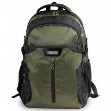 Рюкзак Brauberg - StreetRacer 2, черно-зеленый
