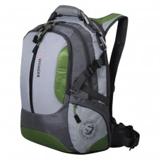Рюкзак Wenger - Large Volume Daypack универсальный, зелено-серый, 30 литров