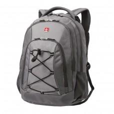 Рюкзак Wenger серый, светло-серые вставки, 28 литров