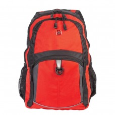 Рюкзак Wenger оранжево-черный, серые вставки, 22 литра