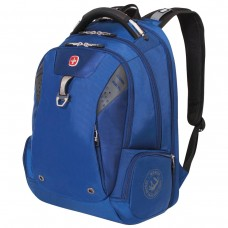 Рюкзак Wenger синий, функция ScanSmart, 31 литр