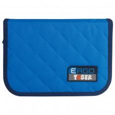 Пенал Tiger Family голубой-синий с наполнением, 1 отделение, 31 предмет