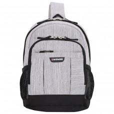 Рюкзак Wenger серо-черный, 12 литров